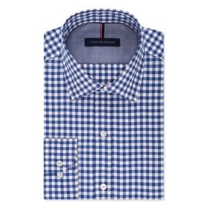 Tommy Hilfigure Slim-Fit Long Sleeve Button Down